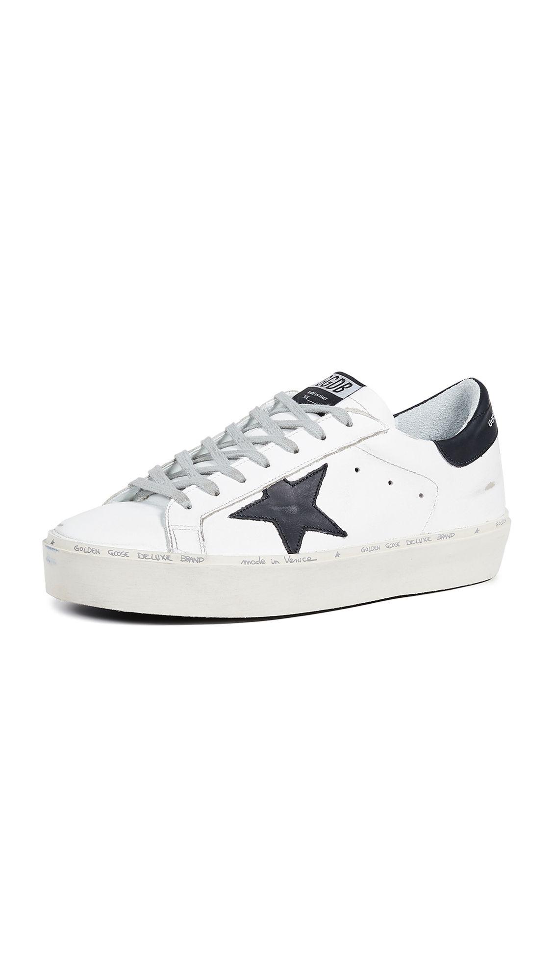 Golden Goose Hi Star Sneakers In White