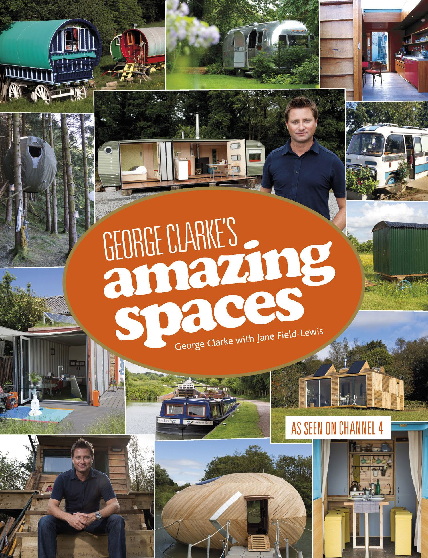 A book I want to read in 2014... George Clarkes amazing spaces ...