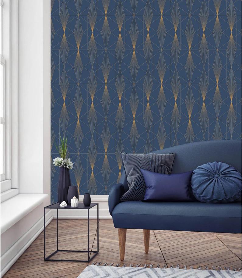 35+ Papier peint chambre adulte bleu ideas