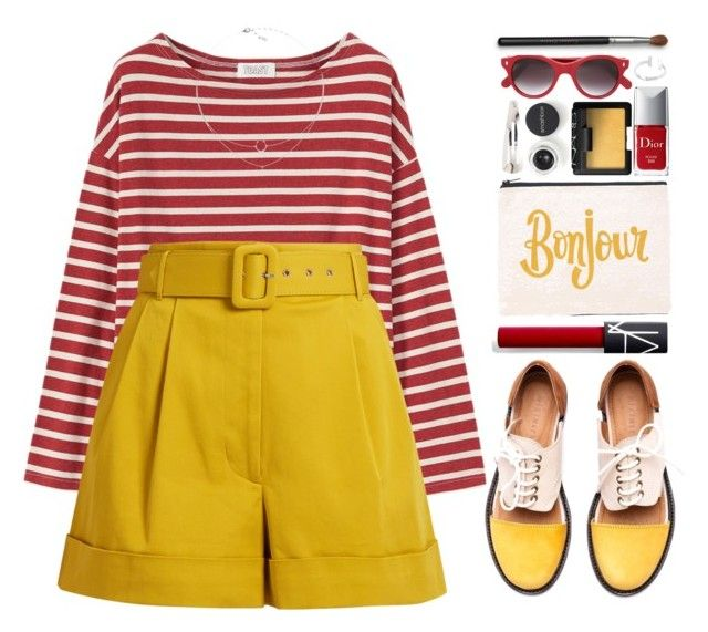 """""""#1097 Ally"""" by blueberrylexie ❤ liked on Polyvore featuring ALPHABET BAGS, Smashbox, Toast, Isa Arfen, Minimarket, NARS Cosmetics, Christian Dior, Cutler and Gross and Adia Kibur"""