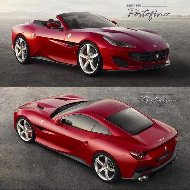 Ferrari Portofino Official Photos California T Replacement With