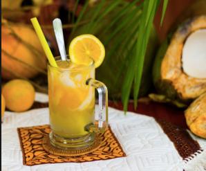 Es Jeruk Kelapa Kaya Akan Vitamin C Lantaran Vitamin Ini Terkandung Pada Buah Jeruk Pilihlah Jeruk Yang Cita Rasanya Manis Agar Minuma Jeruk Buah Jeruk Kelapa