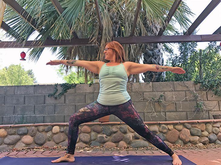 lose fat doing yoga