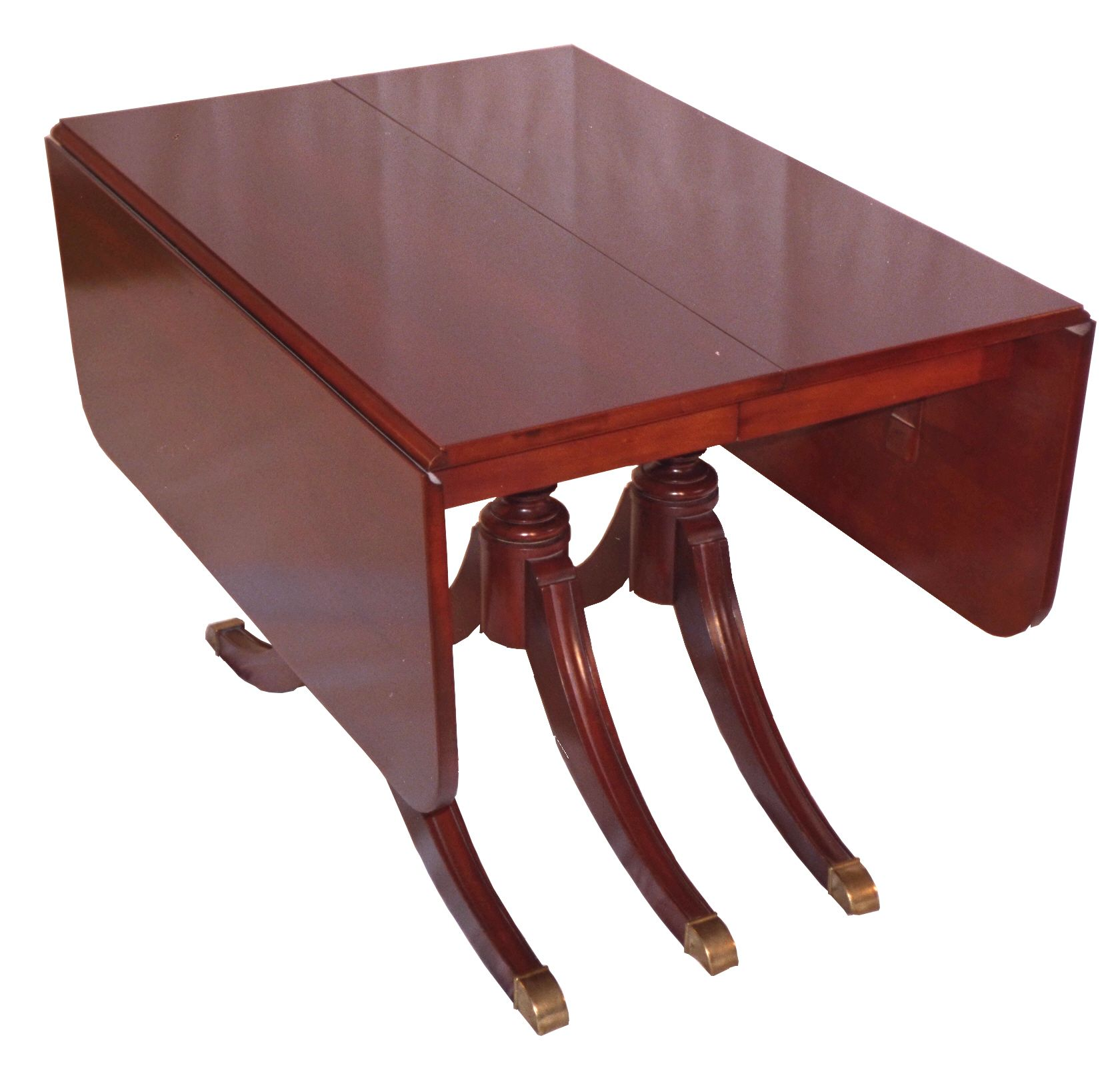 What our dining room Duncan Phyfe table (+ 4 inserts) will look ...