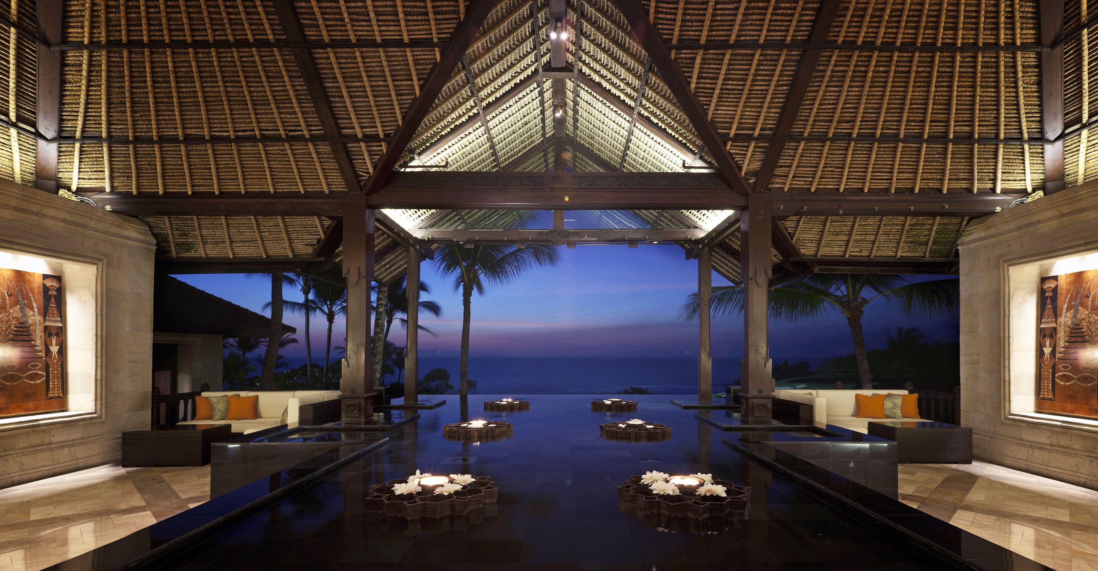 Lobby And Reception Area Pan Pacific Nirwana Bali Resort