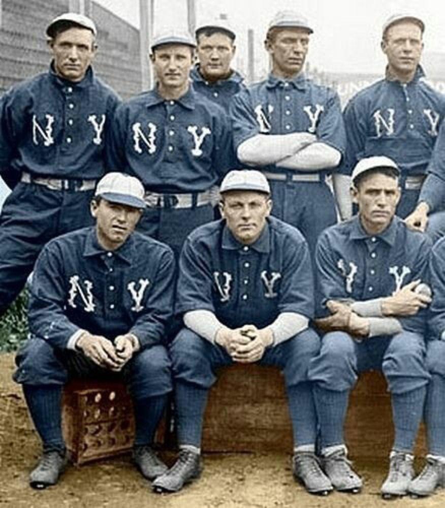 Baseball History And Culture 1903 New York Highlanders New York Yankees Baseball History Yankees Baseball