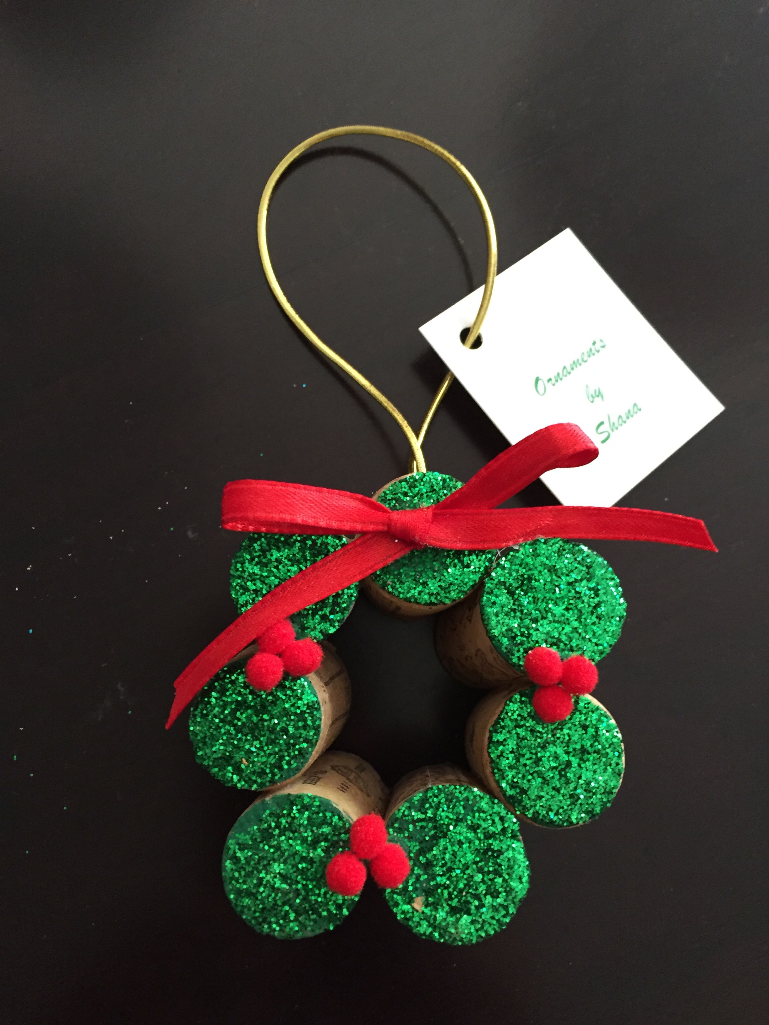 Pin By Deborah Newell On Wine Cork Projects Horse Christmas Ornament Cork Crafts Christmas Wine Cork Ornaments