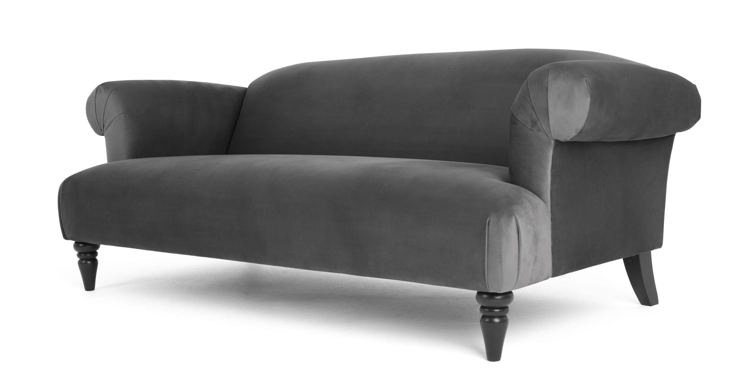 Sofa Samt beeindruckend 3 sitzer sofas 3 sitzer sofa samt in