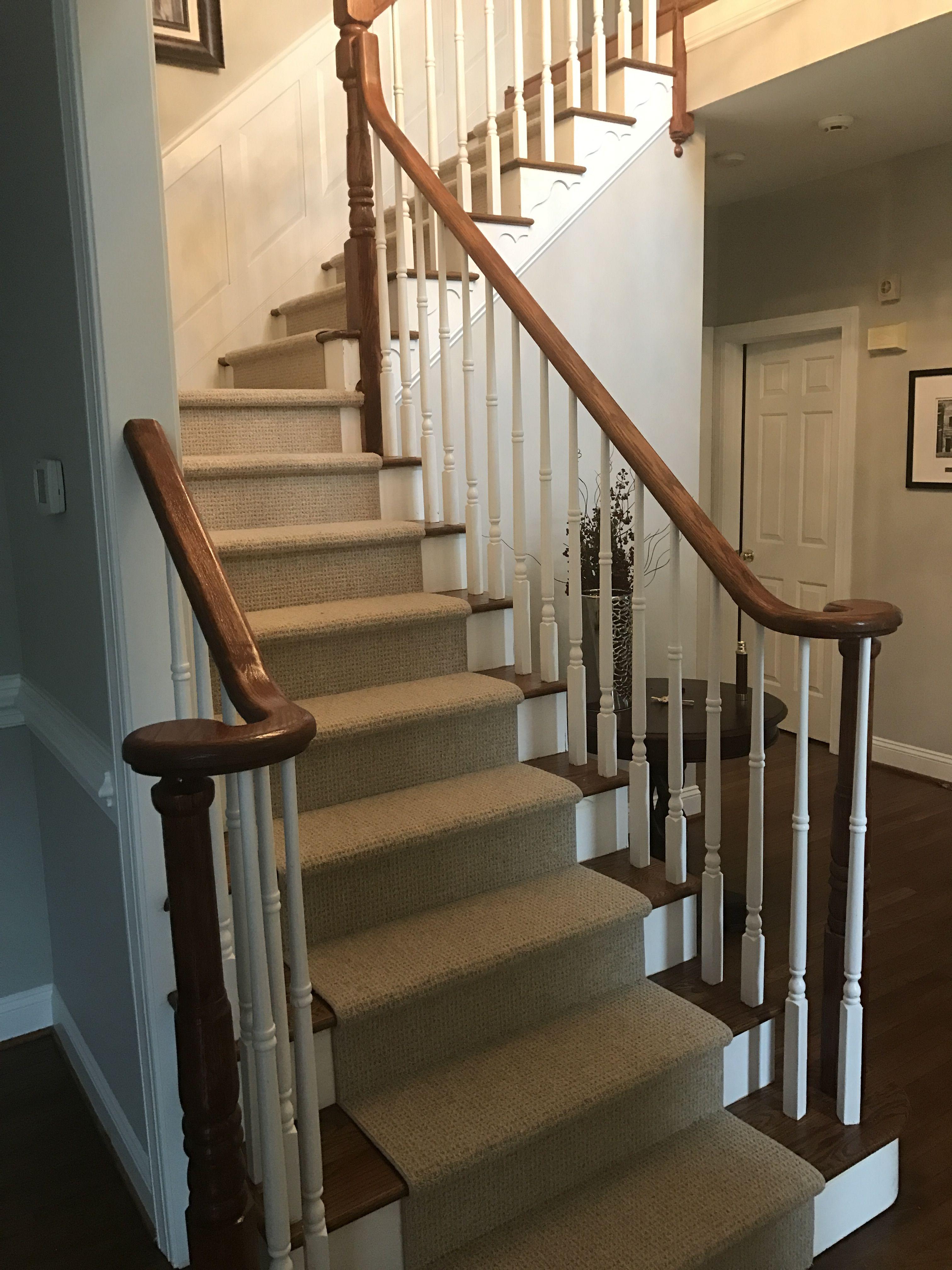 Best Banister Minwax Bombay Mahogany Stair Treads Americana 400 x 300
