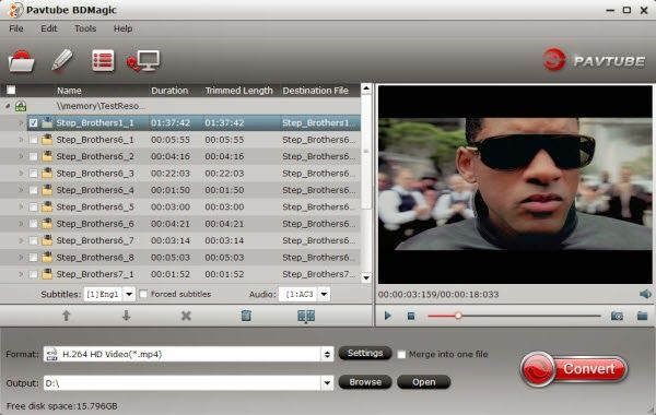 MultiMedia Palyer Era: Backup Blu-ray to Plex Media Server