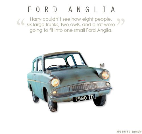 Harry Potter Stuff Ford Anglia Harry Potter Flying Car Harry
