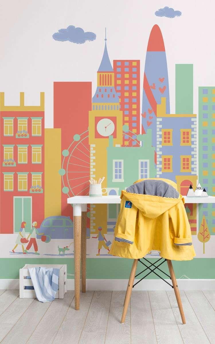 Carta da parati MuralsWallpaper nel 2020 Camera da letto