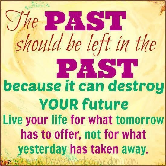 The past, the future