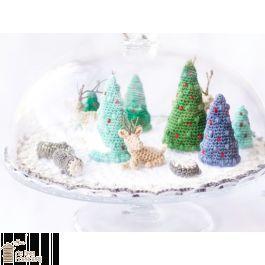 Gratis Haakpatroon Kerstmis Mini Wereld