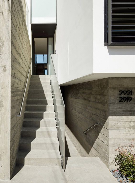 Planos de casa de tres pisos independientes primera - Escalera exterior para segundo piso ...