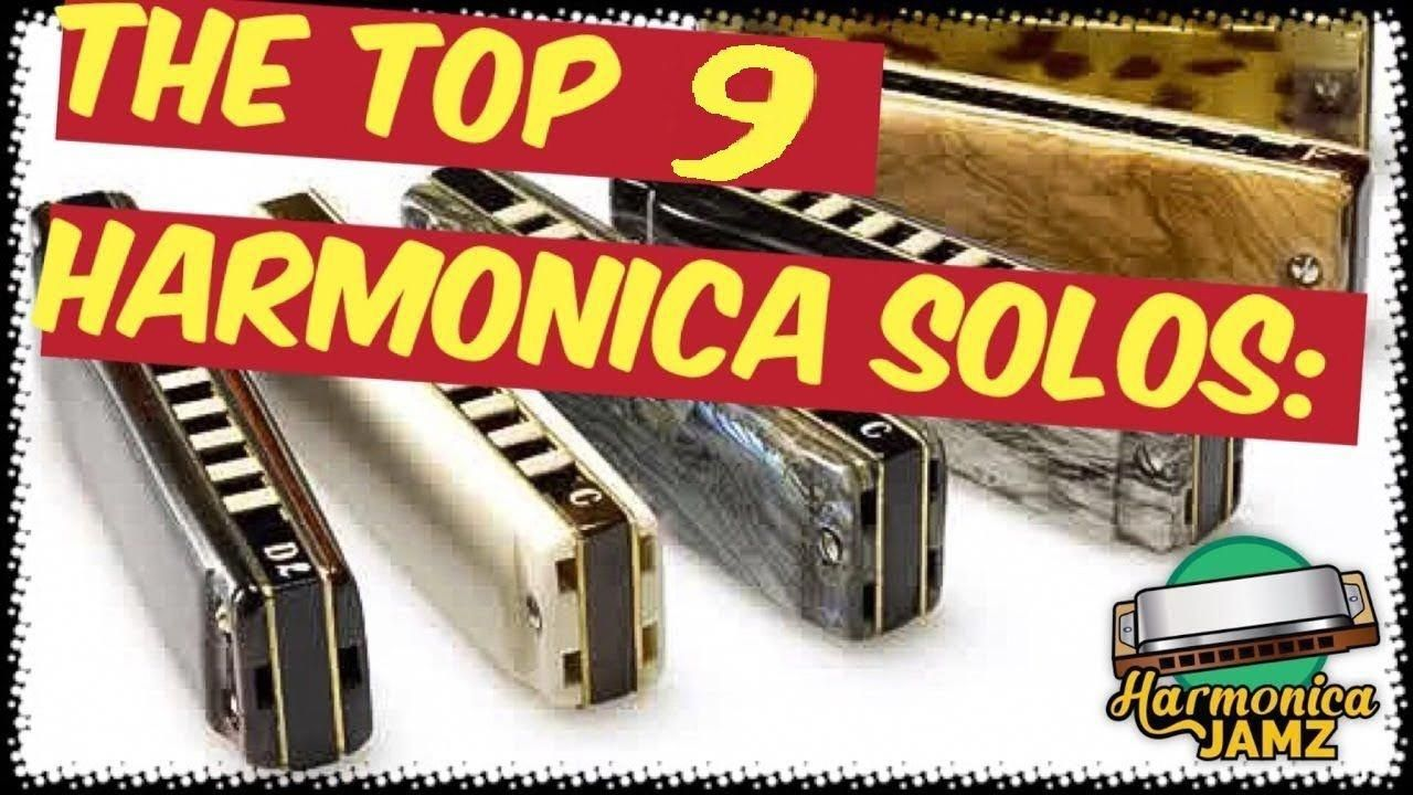 The Top 9 HARMONICA Solos in Rock History violinforkids