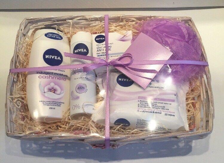 Nivea Gift Basket Pamper Hamper For Her Birthday Thank You