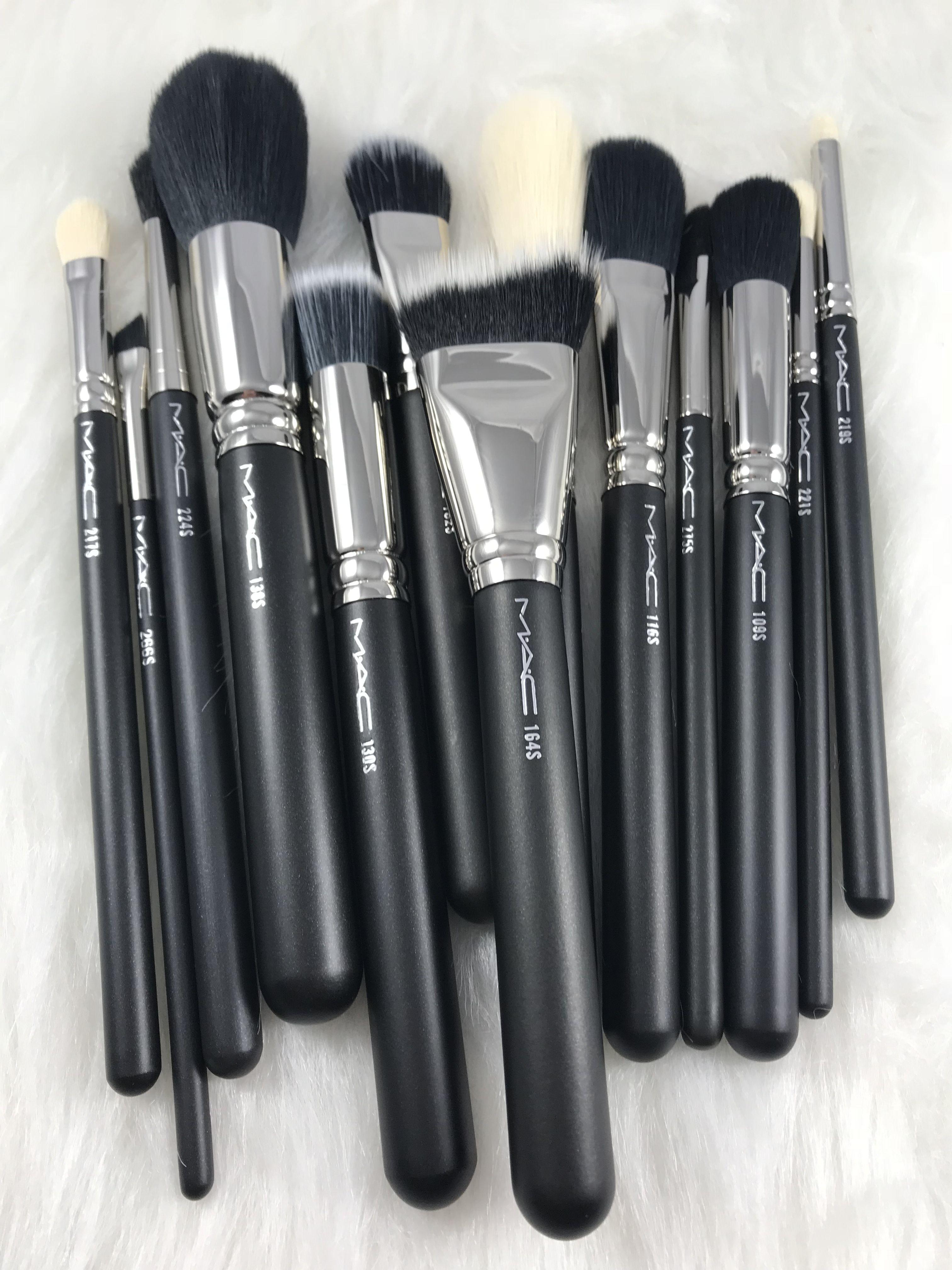 NEW MAC SYNTHETIC BRUSHES Mac makeup brushes, Mac makeup