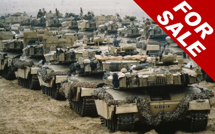 From Second Hand Boots To Ex Army Tanks Britain S Military