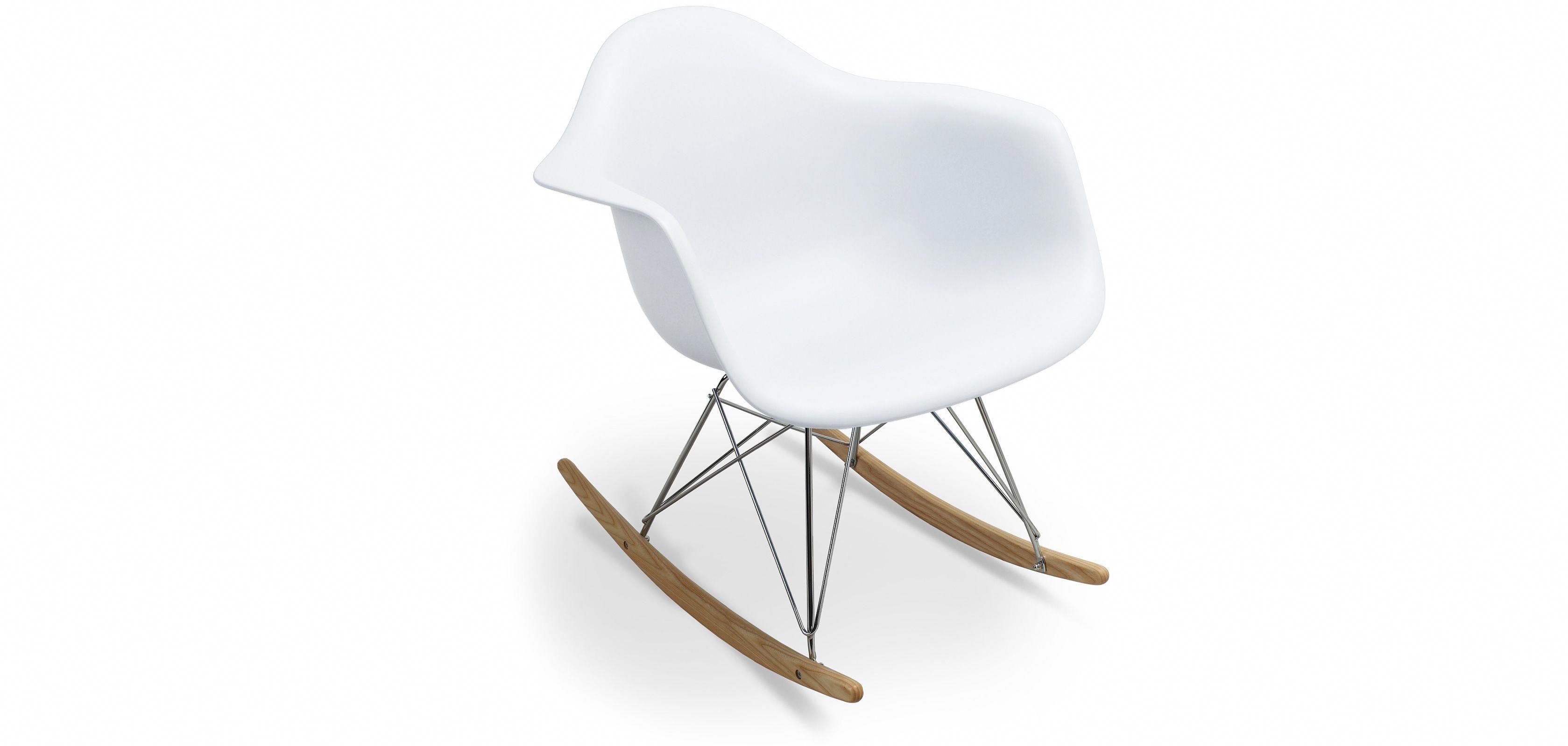Chaise à bascule - Rocking Chair - RAR reproduction inspirée Charles Eames  - Bakélite  eamesrockingchair bede4f0c449e