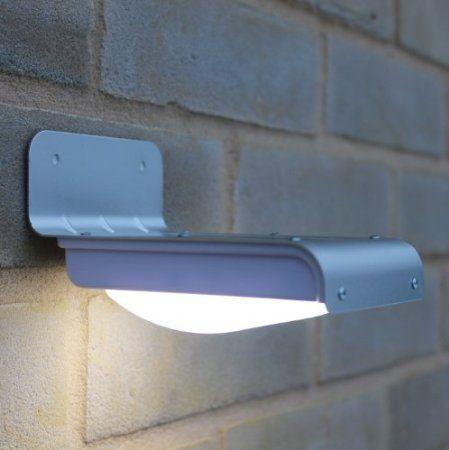 Amazon Com Frostfire 16 Bright Led Wireless Solar Powered Motion Sensor Light Weatherproof No Batt Led Outdoor Lighting Security Lights Motion Sensor Lights