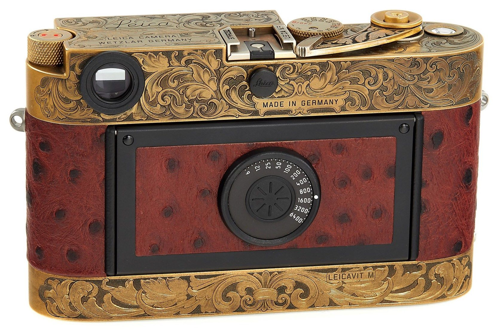 It took more than 2 years to complete this Leica MP