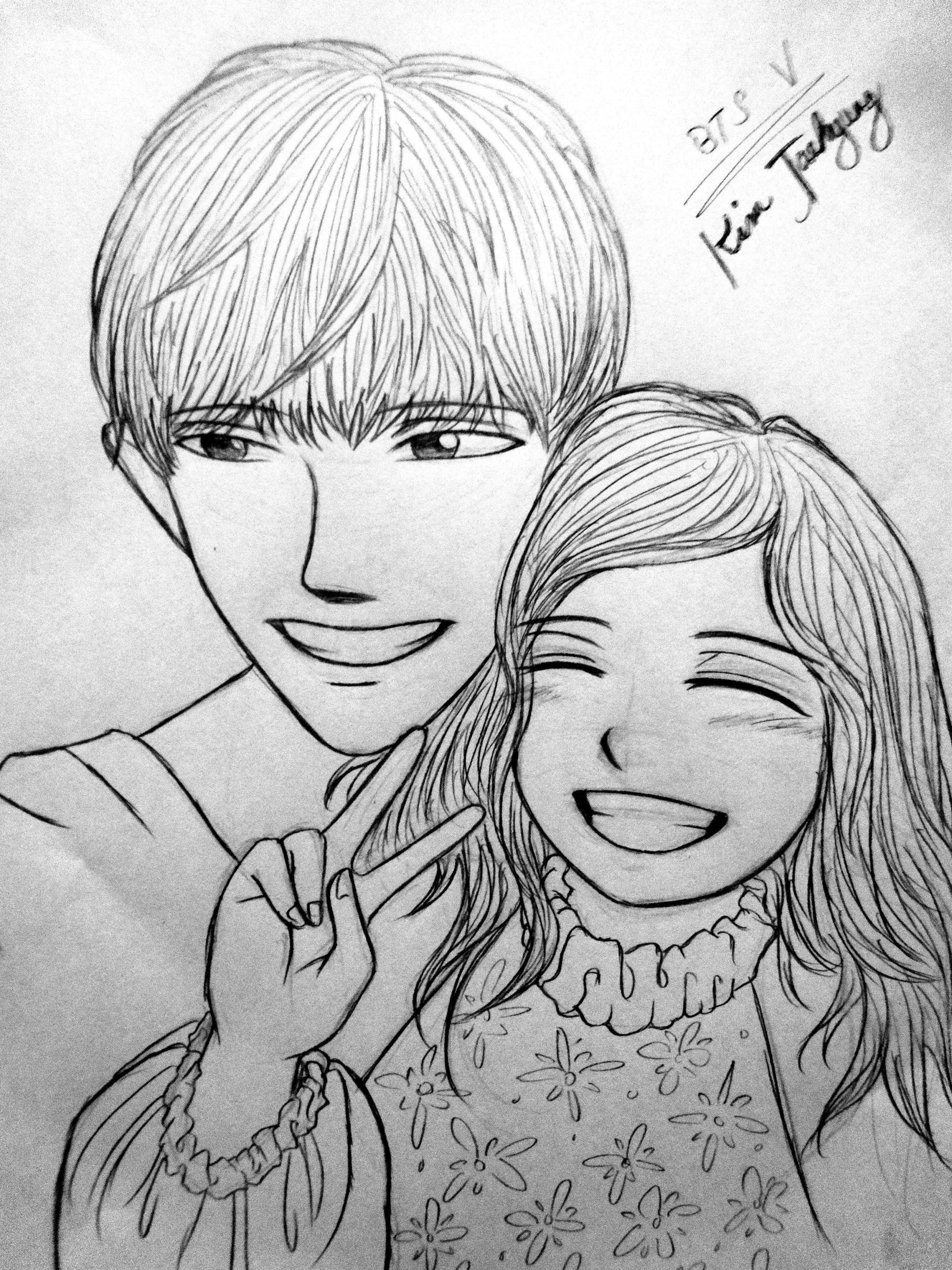 drawing . . . fanart . . . anime version . . . kim
