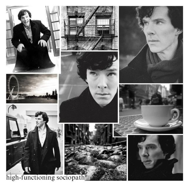 """""""Sherlock Holmes"""" by rainbowbaconcupcake ❤ liked on Polyvore featuring art"""