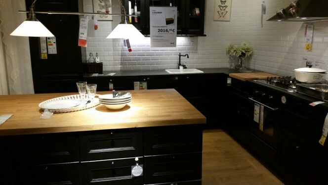 cuisine laxarby ikea rondom ons huisje pinterest. Black Bedroom Furniture Sets. Home Design Ideas