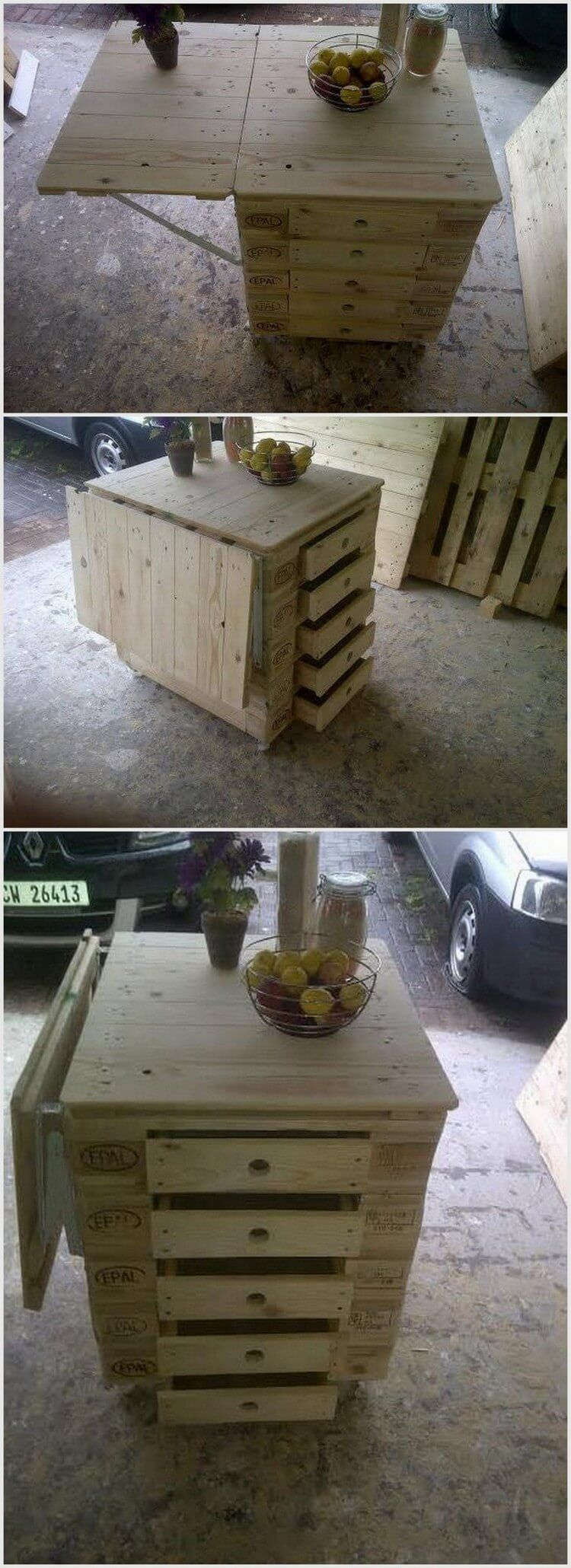50 Wonderful DIY Pallet Furniture Ideas and Projects 2018 ... - photo#18