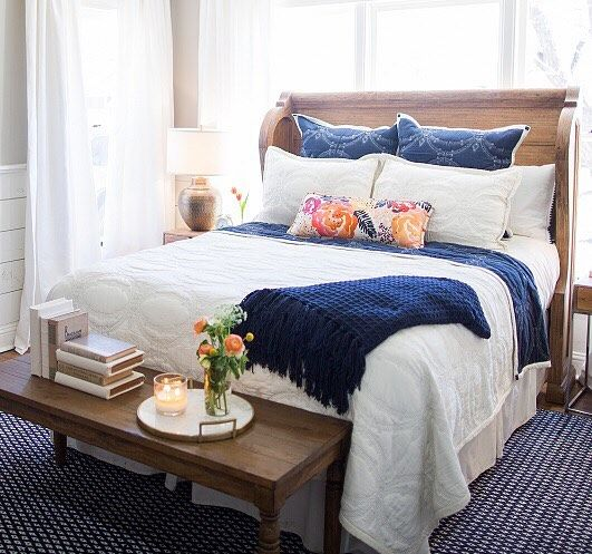The church pew bed will make a natural statement in your room and is a part of the magnolia home - Magnolia bedding joanna gaines ...