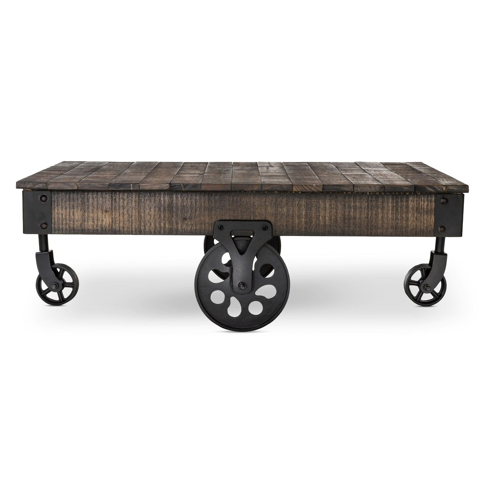 Mixed wood and metal • Industrial style The Bralton