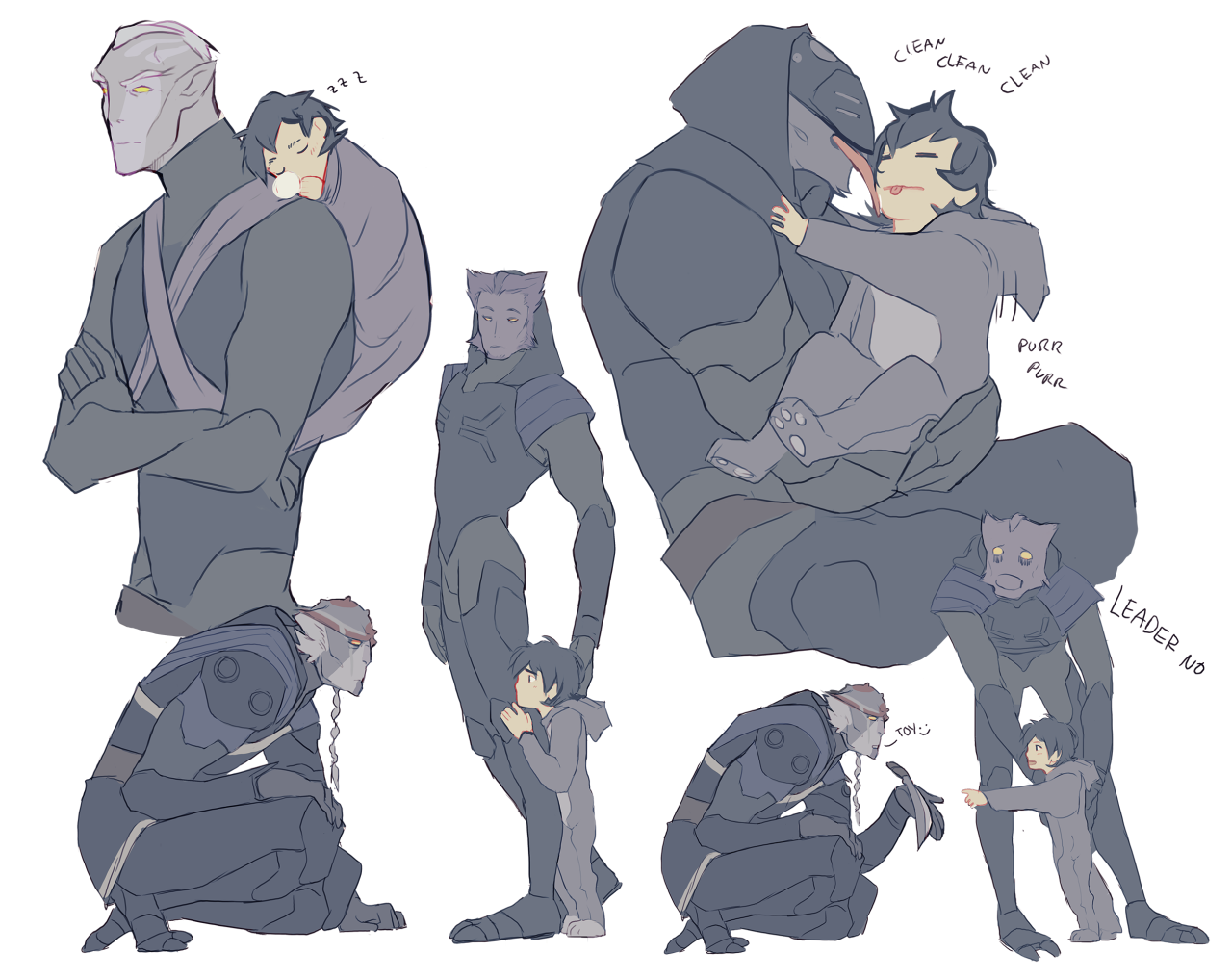 """Drisrt: """"Give Me An AU Where Keith Is Raised By The Dads"""