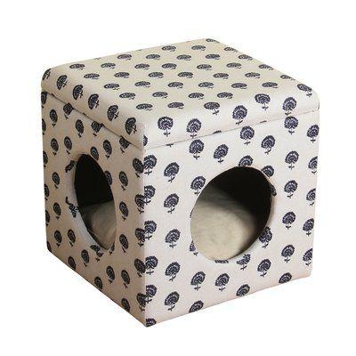 Tucker Murphy Pet Nesbit Decorative Hideaway Ottoman