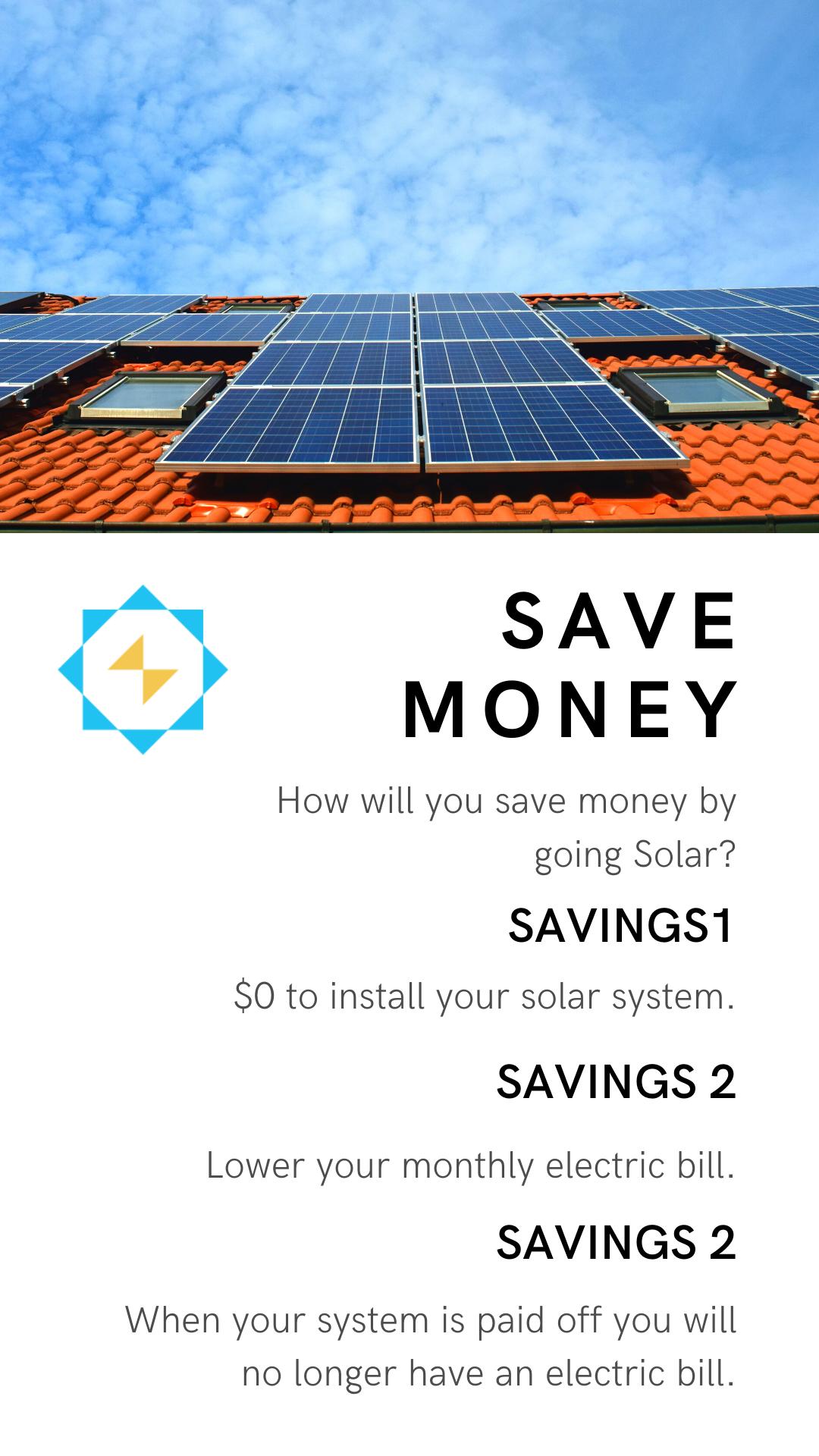 Solar Savings In 2020 Solar Savings Solar Eco Friendly Inspiration