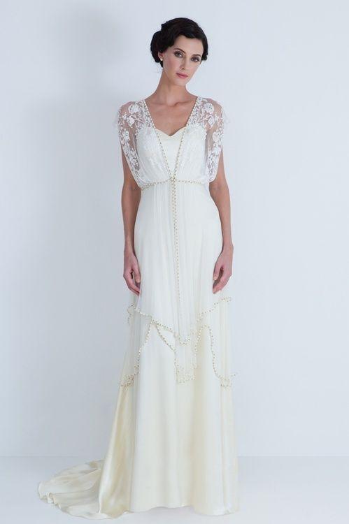 Hippie brautkleid | Brautkleidideen | Pinterest | Flappers, Gowns ...