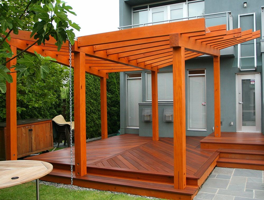 Pergola On Deck Designs