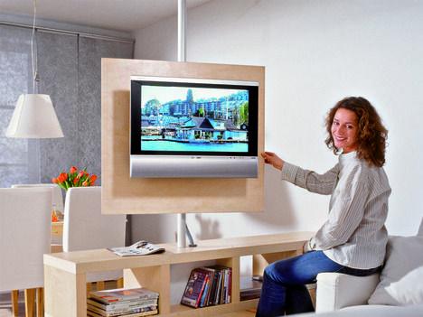 Drehbare Fernsehwand  SELBER MACHEN Heimwerkermagazin