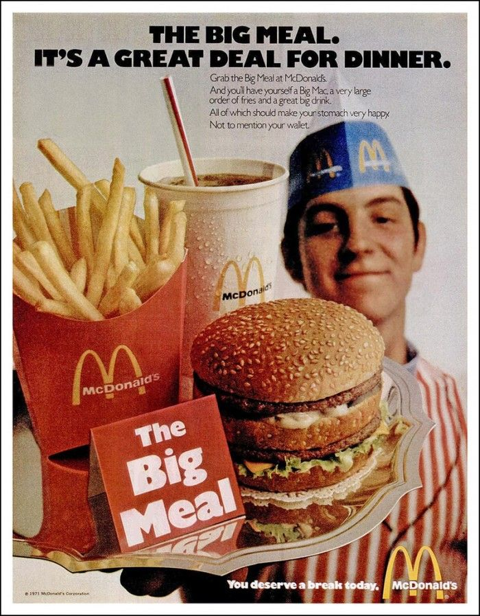 Look At How The Big Mac Looked Before It Was A Production