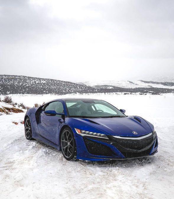 The Cool Blue Acura NSX. Visit Northwest Acura: