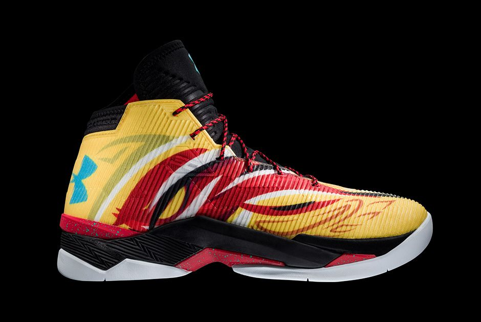 Best Drop Shipping Under Armour UA Curry Mens Basketball shoes Sun Wukong