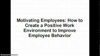http://EmployeeWatch.net Motivation of Employees - Finally an employee communications tool that works.