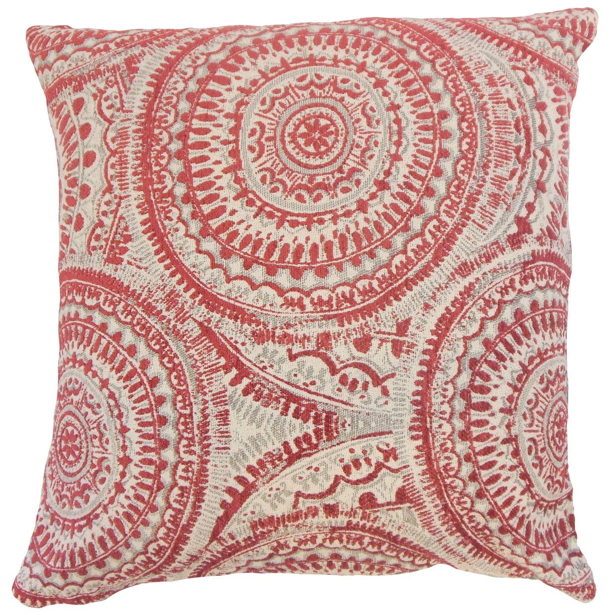 Chione Graphic Throw Pillow Cover (Size), Multi, Size 18 x 18 (Fabric)