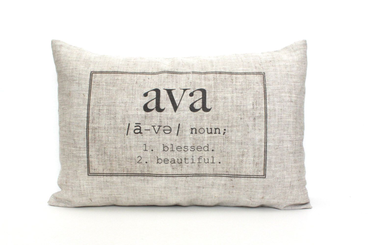 Baby gift baby pillow baby shower gift name definition pillow baby gift baby pillow baby shower gift childs name by coverlove 3000 negle Image collections