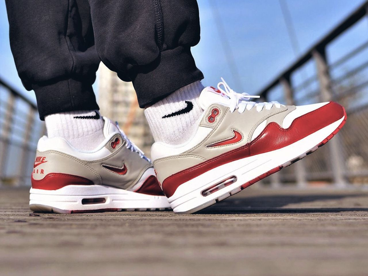 huge selection of b86ce a8b05 Nike Air Max 1 Jewel Rare Ruby custom (by Bibz3w)