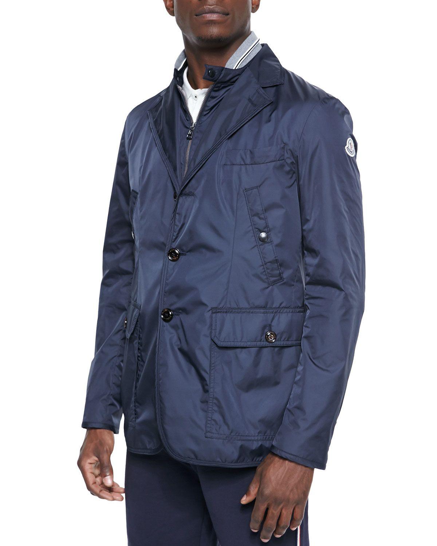 750b8a0c6 Millet Nylon Blazer Navy   *Outerwear > Coats & Jackets*   Blazer ...