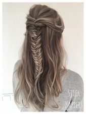 sports hairstyle #Haarflechten französisch 40 of the Best Cute Hair Braiding Tutorials