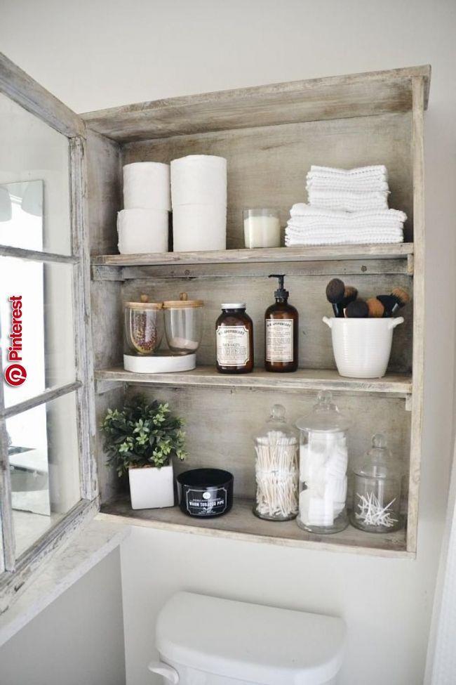oben Badezimmer Regal Altholz Ideen und Inspiration
