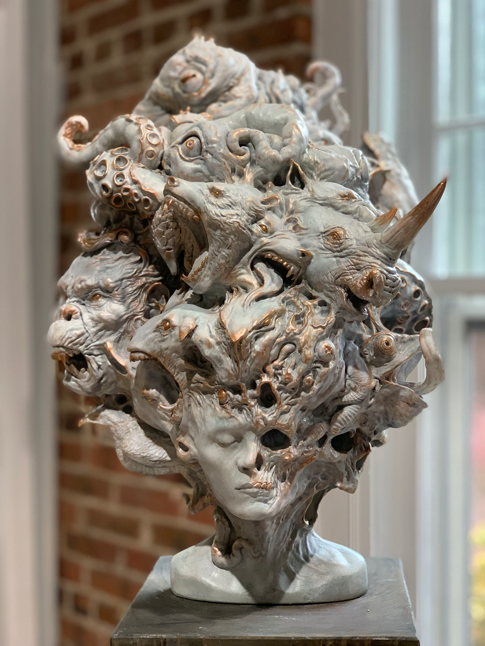Beautiful Bizarre Magazine On Twitter Thinking Man Statue Statue Sculpture