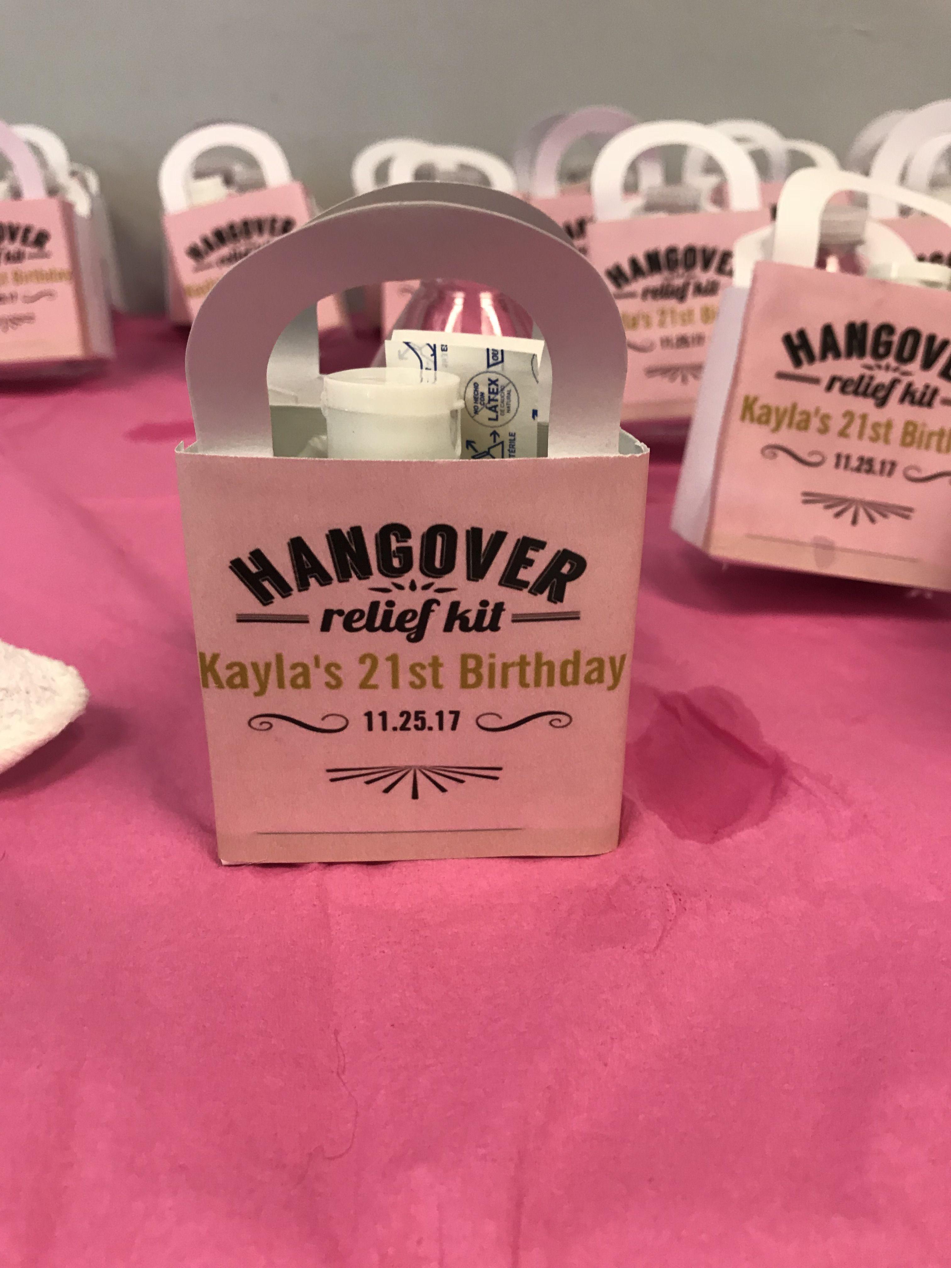 Party Favors: Hangover Kit   LS Creates Inc Centerpiece   Pinterest ...